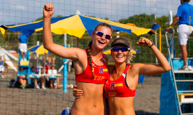 Tania Moreno y Daniela Álvarez, quintas en el europeo sub 20